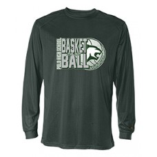 Polo BB Dry-fit Long-sleeved T (Forest Green)
